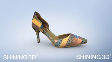 3d model of high heel