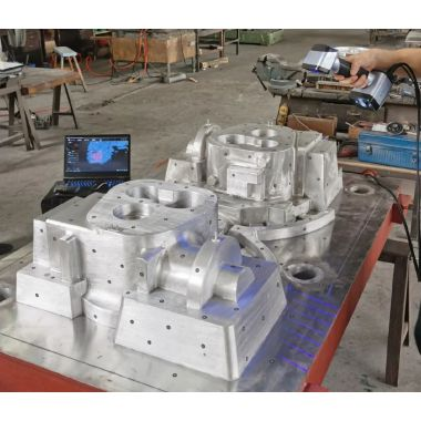 3D Inspection for Large and Complex Aluminum Mold with EinScan HX