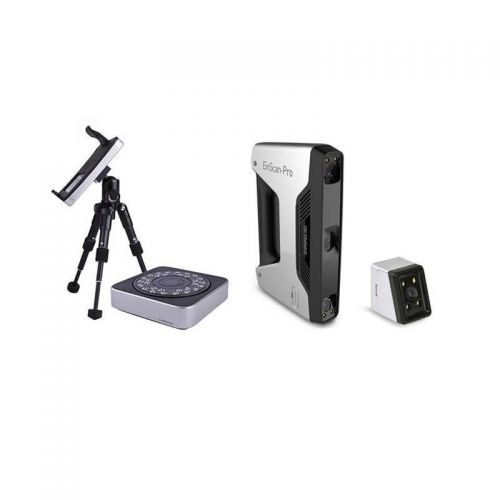EinScan-Pro Handheld 3D Scanner - with Industrial Tripod, Turntable & Color Pack