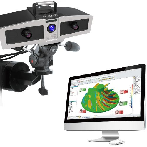 OptimScan-5M Metrology Blue Light 3D Scanner