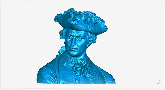 Geomagic Wrap bust sculpture artisans