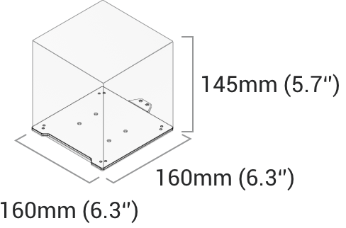A150 3D Printing Specification