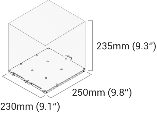 A250 3D Printing Specification
